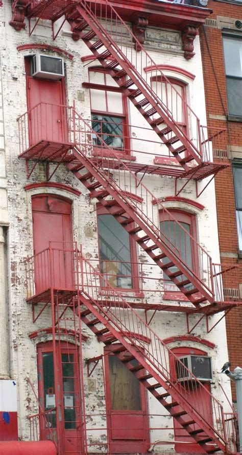 Fire Escapes of NYC in 2020 | Fire escape, Outside stairs