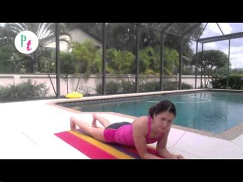 Easy plank interval workout for beginners - YouTube