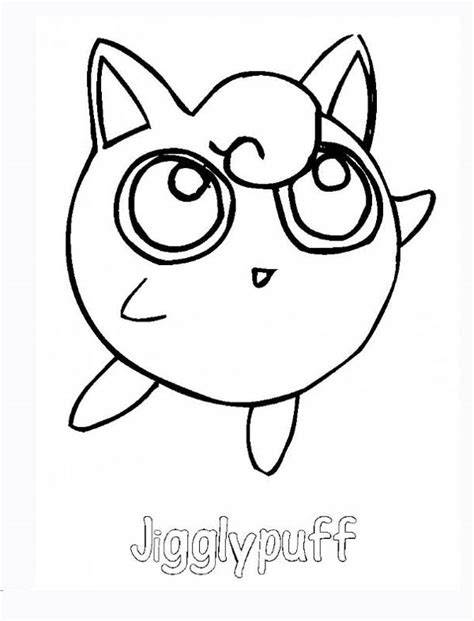 Jigglypuff Coloring Pages - GetColoringPages