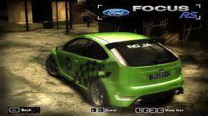 Need For Speed Most Wanted Ford Focus RS   NFSCars