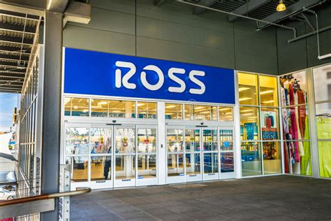 Ross Dress For Less Store Editorial Stock Photo - Image