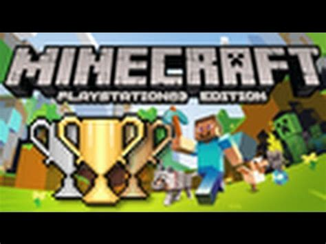 """Minecraft PS3 """"Return To Sender"""" Trophy (very easy) - YouTube"""
