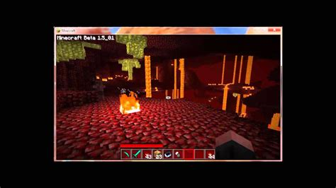 Minecraft how to deflect Ghasts fireballs - YouTube