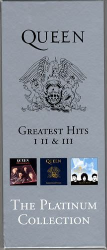 Queen - Greatest Hits I II & III (The Platinum Collection