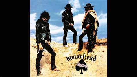 Motörhead - Ace of Spades DRUM TRACK ONLY - YouTube
