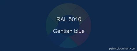 RAL 5010 : Painting RAL 5010 (Gentian blue