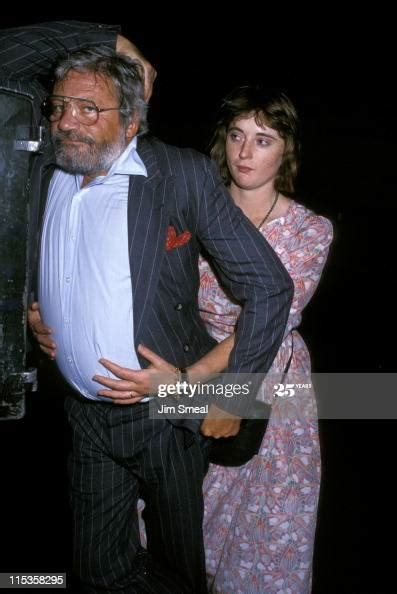 Oliver Reed and Josephine Reed during Oliver Reed at P