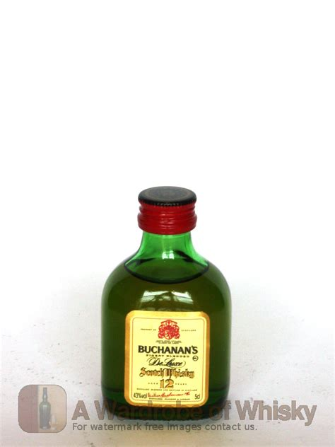 Miniature of Buchanan's 12 year Deluxe Blended Whisky