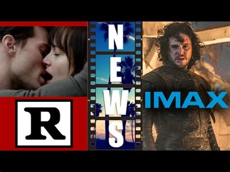 Fifty Shades of Grey rated R, Game of Thrones IMAX Movie