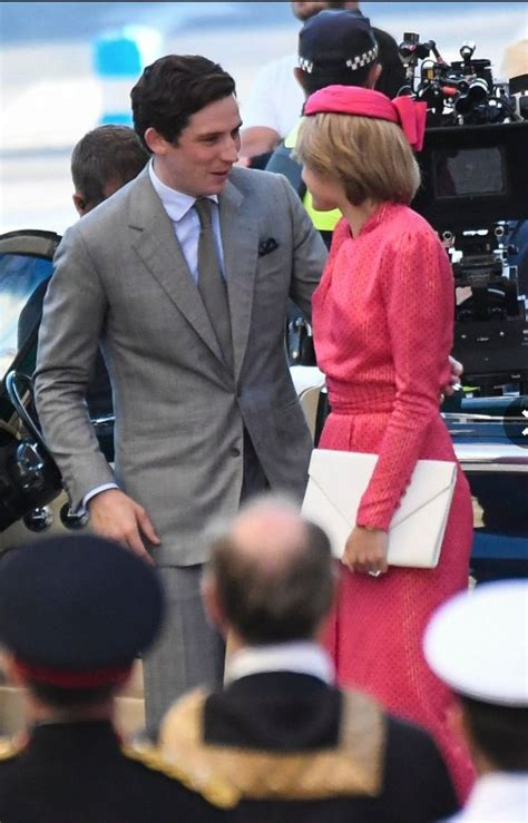 Emma Corrin spotted filming as Princess Diana for The