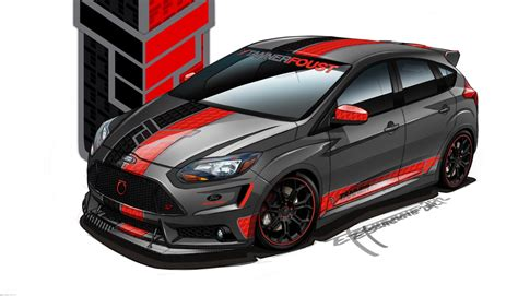 Ford Focus ST, Fusion concepts headed for 2012 SEMA show