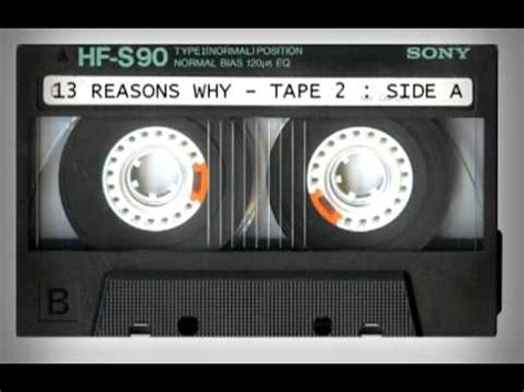 (13) REASONS WHY : TAPE 2 : SIDE A [VOICEOVER] - YouTube