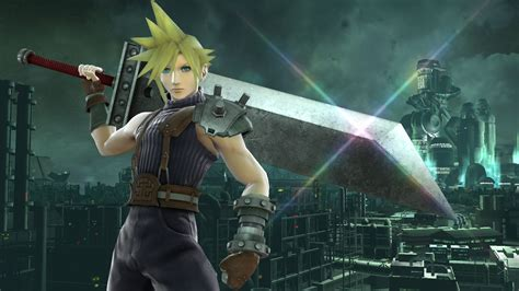 Final Fantasy VII's Cloud is coming to Smash Bros