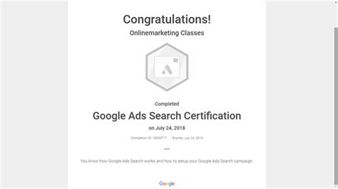 How to get Google adwords certification? Is it free or