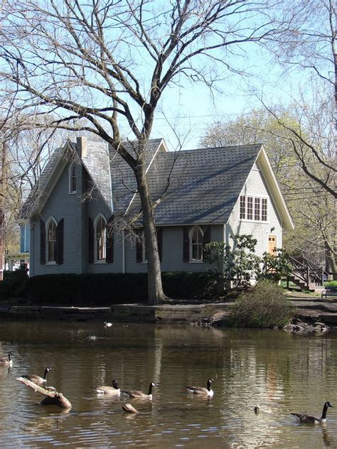 Yardley, PA : The Old Library by Lake Afton photo, picture