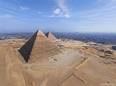 In pictures: An aerial tour of Cairo's pyramids · The