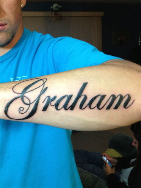 Done on a friend of mine, mothers maiden name   Tattoo