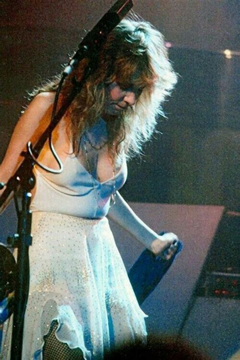 Young and Beautiful Stevie Nicks on Stage in the 1970s and