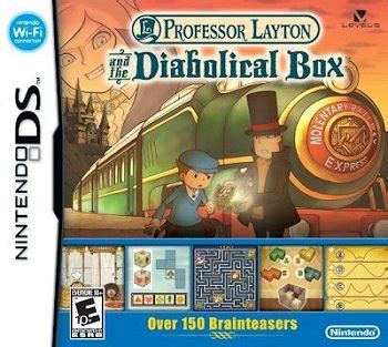 Professor Layton and the Diabolical Box (Video Game) - TV
