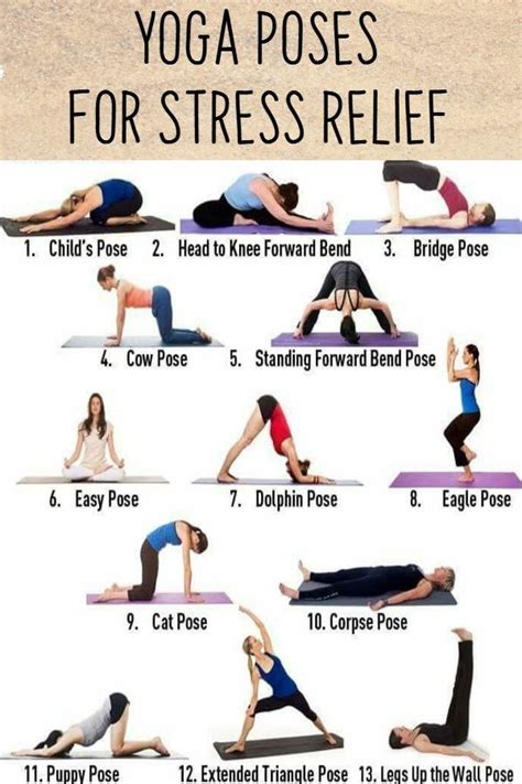 Easy Yoga Poses for Stressed Out Moms (With images) | Easy