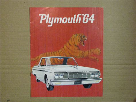 1964 Plymouth and 1965 Plymouth Dealer Brochures
