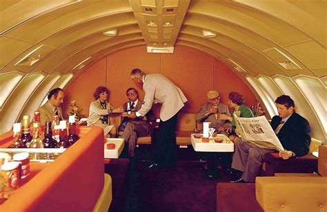 In pictures - How flying was truly stylish and comfortable