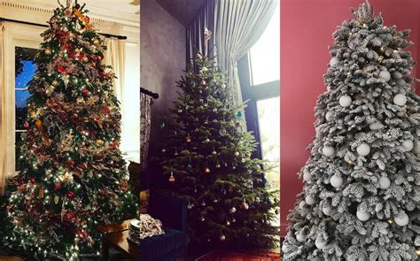 The best celebrity Christmas trees – from Beyoncé to Wayne